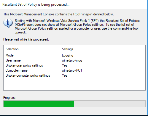 How to use RSoP to check and troubleshoot group policy settings