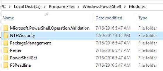 Powershell Module Install