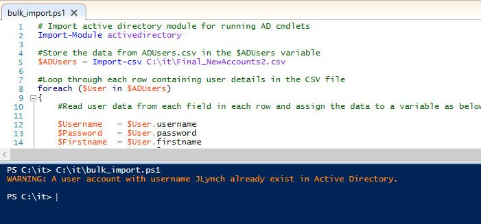 Create Bulk Users in Active Directory (Step-By-Step Guide)