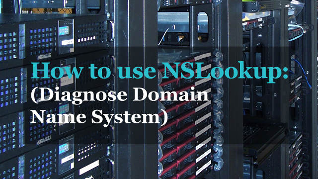Test DNS records with NSlookup