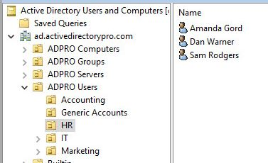 Export Users From Active Directory