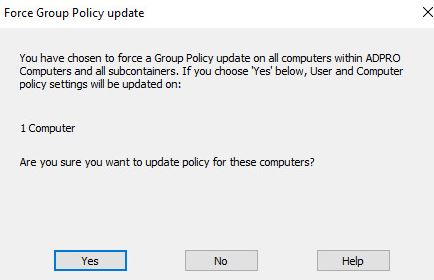 How to Update Group Policy on Remote Computers