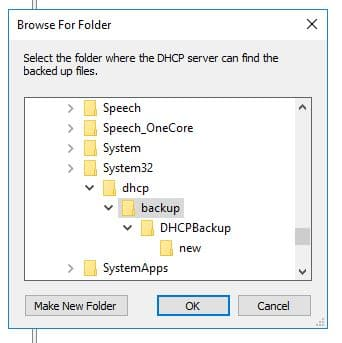 Backup and Restore Windows DHCP Server