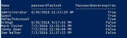 how to check windows password expiry date