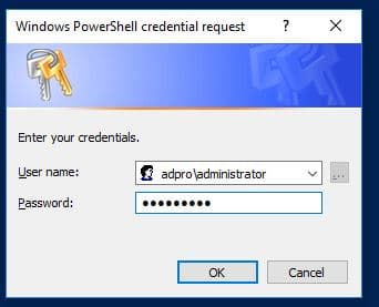 Join Computer to Domain Using PowerShell