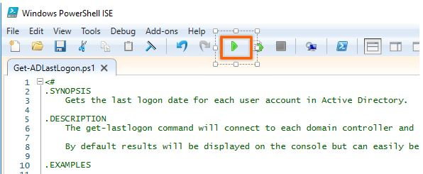 AD Last Logon Report Tool: Report All Users Last Logon Date