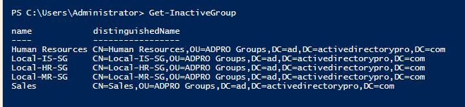 get-adcleanup-group