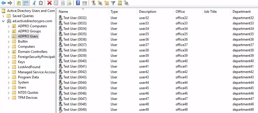 Bulk update Active Directory user properties